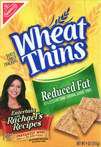 Rachael Ray on Wheat Thins